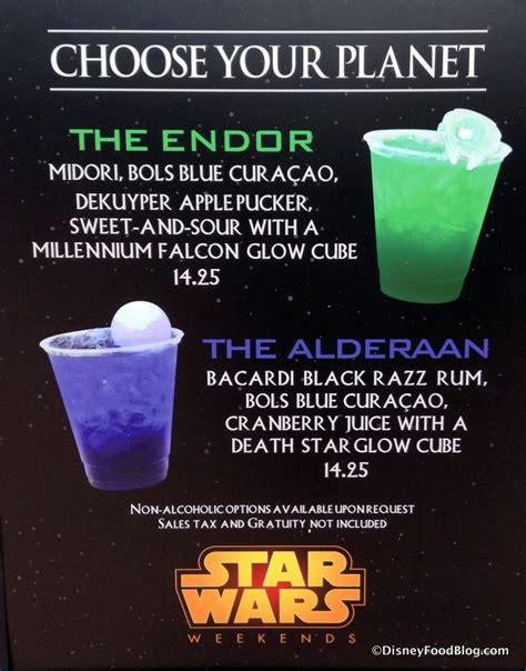 star wars cocktails disney food