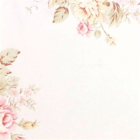 jual wallpaper bunga floral flower shabby chic vintage