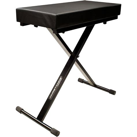 js bench jamstands jamstands series js lb100 large keyboard bench music123
