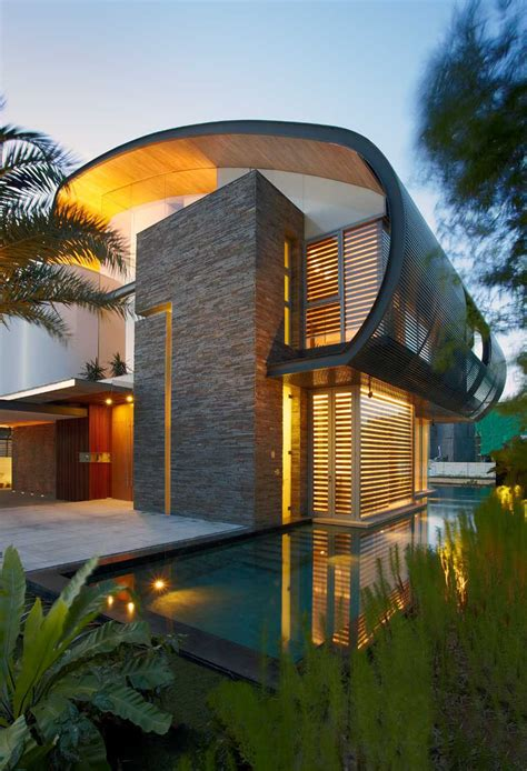 nautical inspired house   marina  singapore