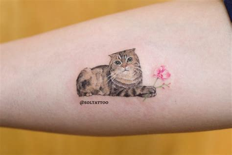 can you tattoo your cat 33 mesmerising cat tattoos so your little friend can live