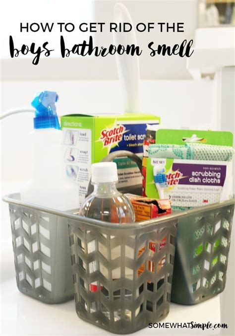 how to get rid of bathroom odor how to get rid of the boys bathroom smell somewhat simple