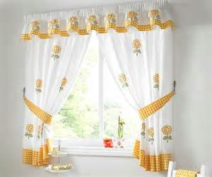 white and yellow modern kitchen curtains home interiors