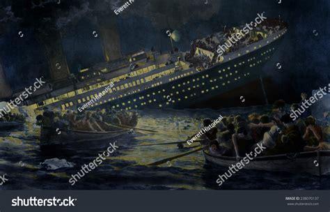 titanic lifeboat for sale sinking of the titanic the lifeboats row away from the