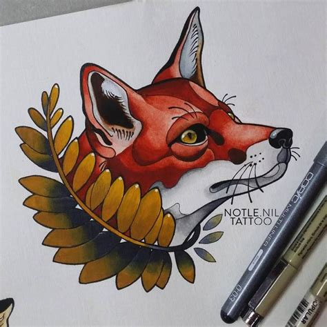 Tattoo Flash Fox | 17 best images about tattoo on pinterest traditional