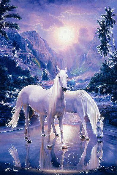 imagenes de unicornios salvajes анимация лошади фото животных анимационные блестящие