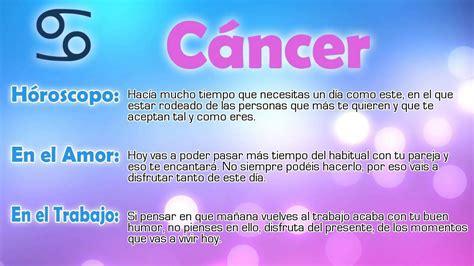 hor 243 scopo c 225 ncer 2016 horoscopo cancer febrero 2016 2016 libra daily horoscope