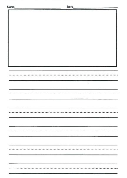 printable 2nd grade writing paper 2nd grade writing paper new calendar template site