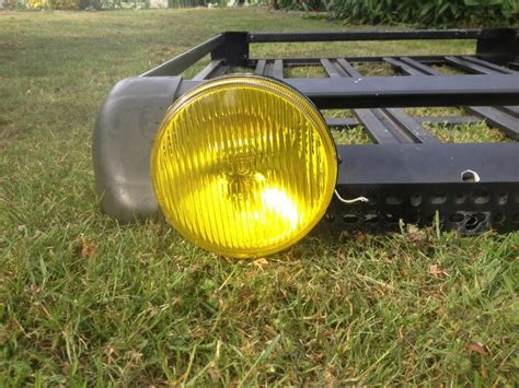 Roof Basket With Lights by Roof Basket With Piaa Fog Lights City