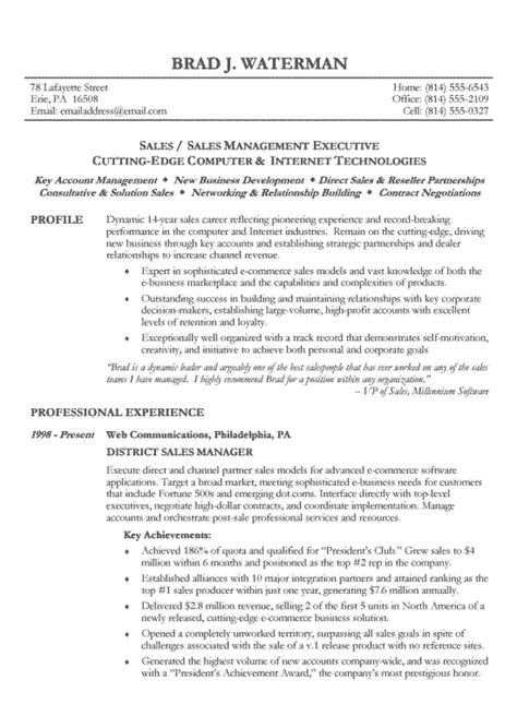 best executive resume sles 2015 chronological resume exle sle