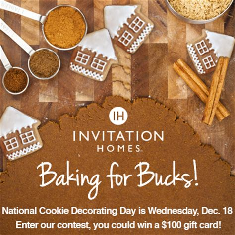 invitation homes residents are quot baking for bucks quot