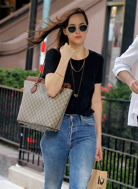 Dakota Johnson Tote Bag mini bags and high waisted dominated tastes