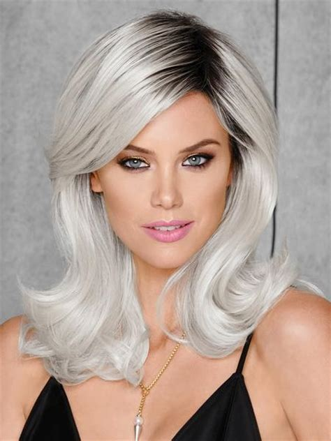 best shoo for colored hair whiteout by hairdo colored wig wigs