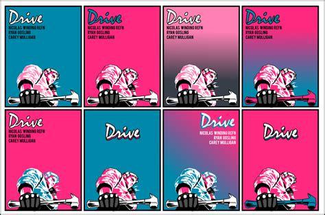 drive movie poster by jleeisme on deviantart drive poster variations by nnww on deviantart