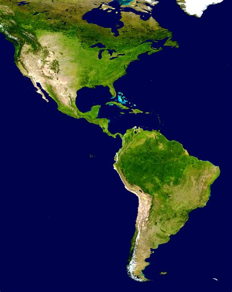 america continent map www mappi net maps of continents america