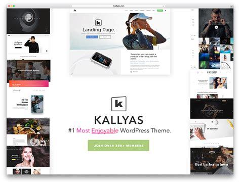 download kallyas wordpress theme 63 best clean wordpress themes 2018 colorlib