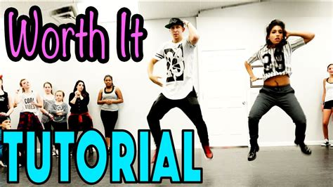 tutorial dance worth it fifth harmony dance tutorial mattsteffanina