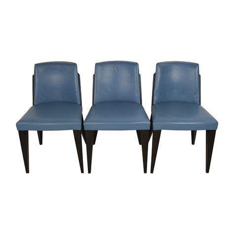 90 potocco potocco blue leather dining chairs chairs