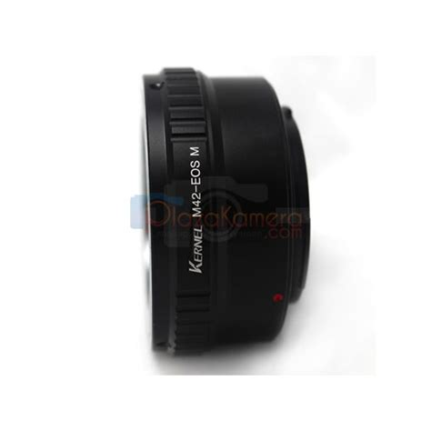 Lensa Canon jual adapter lensa m42 ke canon eos m with stand kernel