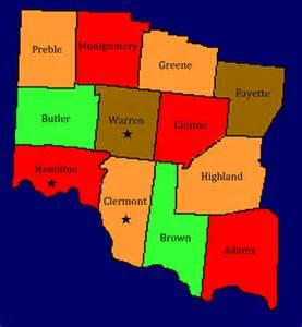 Map Of Southwest Ohio by Birding In Southwest Ohio