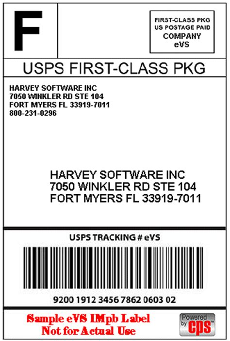 usps label template harvey software news next generation usps labels