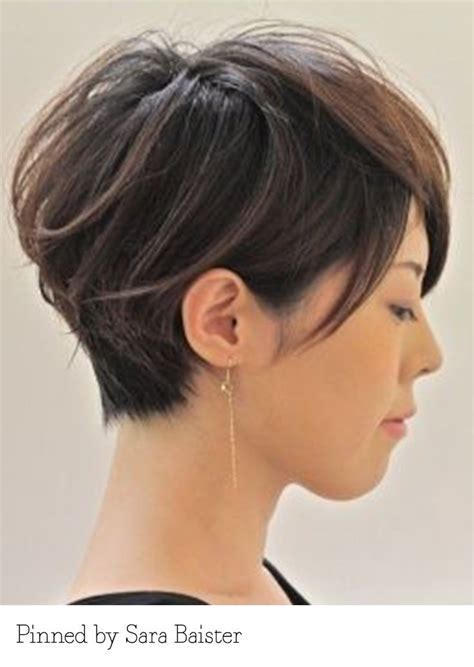 Short haircuts for round faces and thick hair   Hair Style