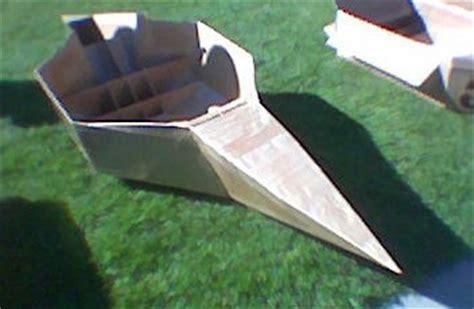 cardboard boat shapes shape the arts board of cardboard