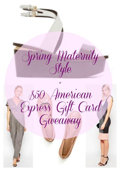 American Express Gift Card Pin - spring maternity style american express gift card giveaway