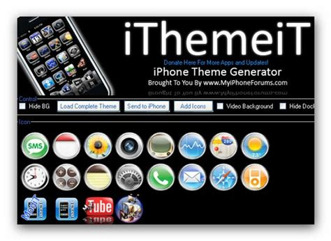 themes for icons on iphone ithemeit create iphone theme wallpaper icons