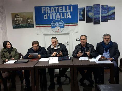 azioni d italia fratelli d italia direttivo e azioni alghero news
