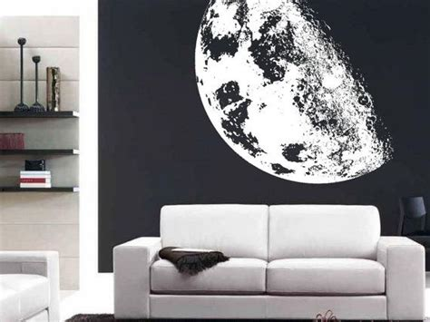 full moon realistic extra large wall mural