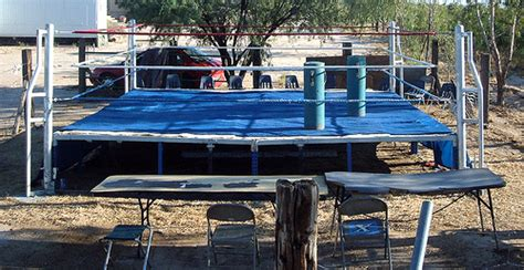 how to make a backyard wrestling ring build a backyard wrestling ring outdoor furniture design