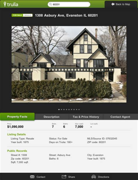 trulia real estate search app for iphone lifestyle