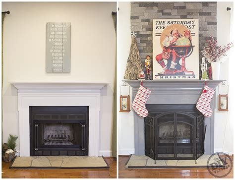 before and after fireplace makeovers diy fireplace mantel makeover the diy