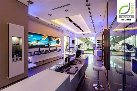 mobile stores samsung experience store budapest hungary store design