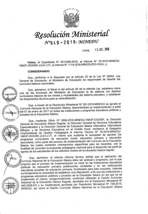 programa curricular jec minedu programa curricular de educaci 243 n inicial 2017 aprobado por