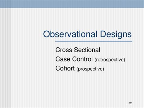observational cross sectional study ppt overview of research methods in dentistry powerpoint