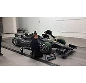 IndyCar Dallara DW12 Chassis Goes To Windshear Wind Tunnel