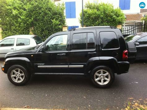 jeep limited 2006 achat jeep 2 8 crd limited 2006 d occasion pas