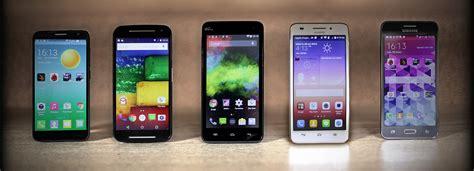 on a test 233 pour vous cinq bons smartphones 224 moins de