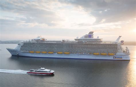 royal caribbean harmony of the seas harmony of the seas world s largest cruise ship to pass