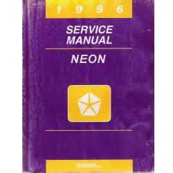 car repair manual download 1996 dodge neon interior lighting 1996 dodge neon pl service manual