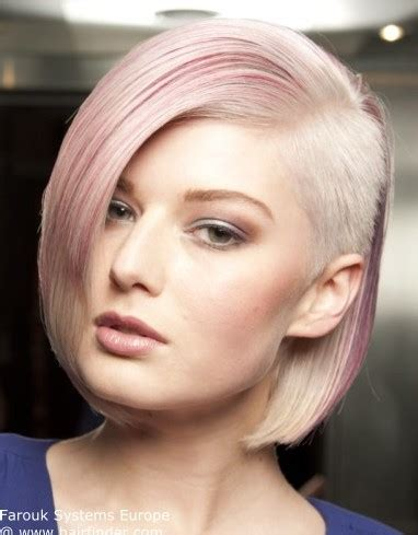 one sided shaved bob 20 trendy short hairstyles to cheer you up for spring 2014