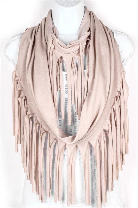 Fringe Scarf fringe infinity scarf scarves