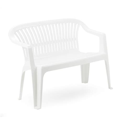 panchine in plastica mobili giardino plastica e resina ipae panchina bricoio