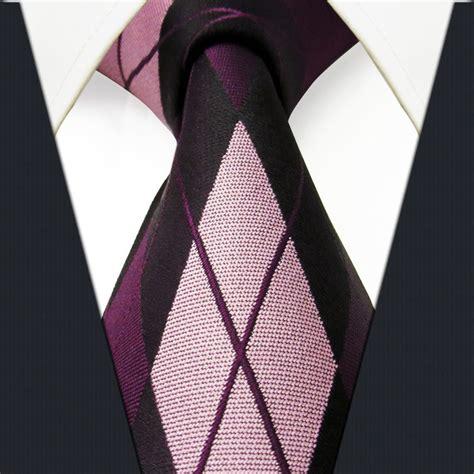 size checked pattern black pink purple mens