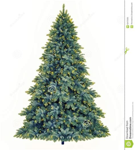 yellow led tree lights tree stock illustration image 62475355