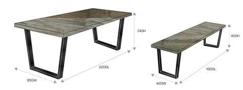 line dining table 2 sizes stylish dining table