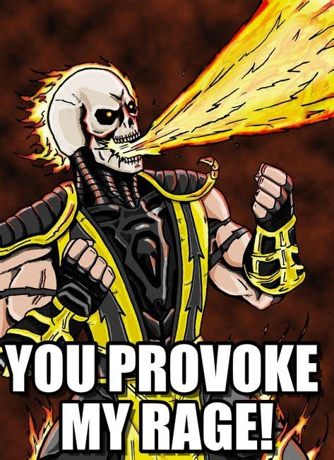 Scorpion Meme - scorpion s rage is provoked angry scorpion meme on memegen
