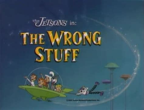 the wrong stuff the jetsons